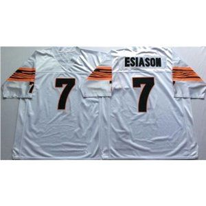 Boomer Esiason White Throwback Stitched Jersey